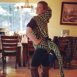 Dinosaur/ Snake costume